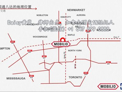 多伦多旺市中心Mobilio Condo 公寓