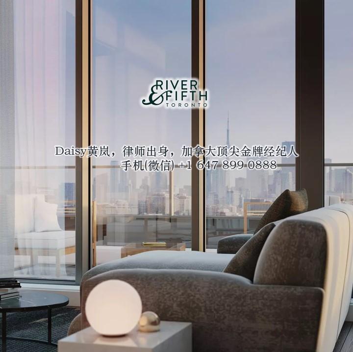 多伦多市中心城市绿洲River & Fifth Condo公寓 多伦多买房 多伦多楼花专家